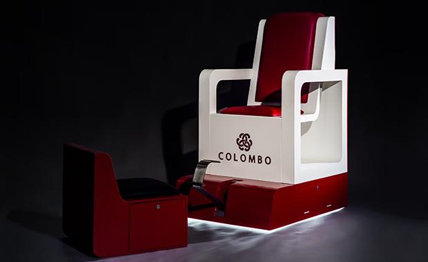 Cadeira engraxador - Colombo