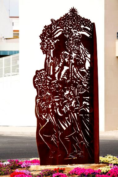 CM Loule - Escultura Miguel Cheta - 1
