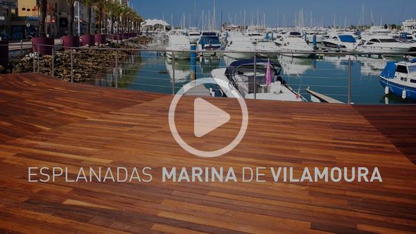 Esplanadas em deck - Marina de Vilamoura
